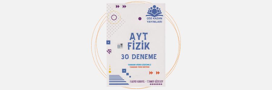 AYT Fizik 30 Deneme Çöz Kazan Yayınları 15