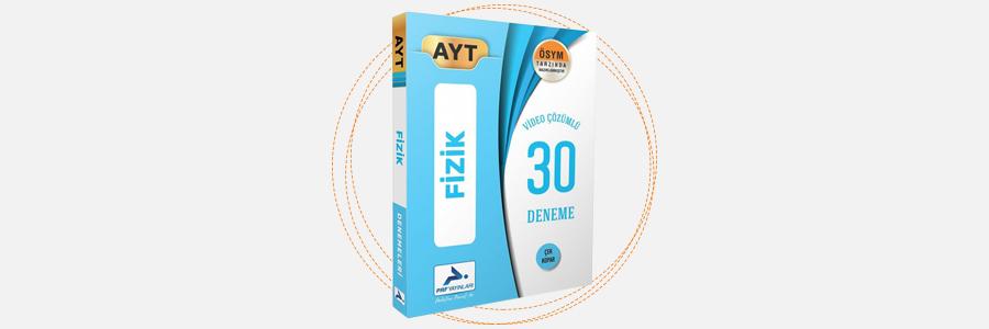 AYT Fizik 30 Deneme PRF Paraf Yayınları 7