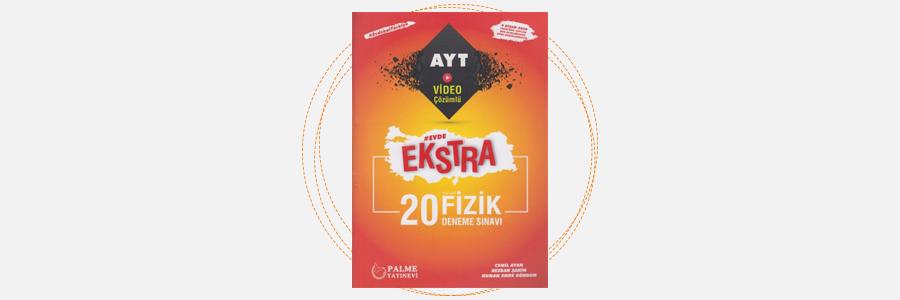 AYT Fizik Evde Ekstra 20 Deneme Sınavı Palme Yayınları 6