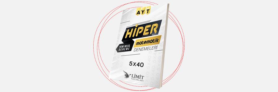 AYT Hiper Matematik 5x40 Denemeleri Limit Yayınları 1