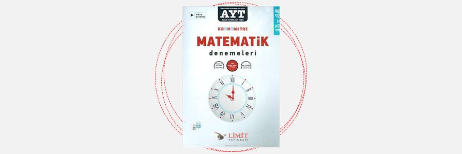 AYT Kronometre Matematik Denemeleri 15x40 Limit Yayınları 19