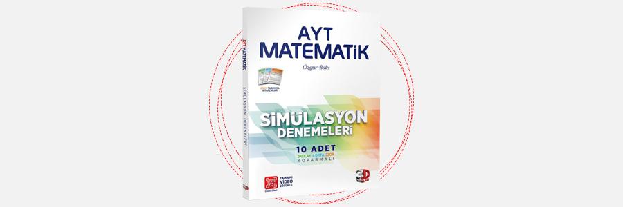 AYT Matematik 10'lu Simülasyon Denemeleri 3D Yayınları 1