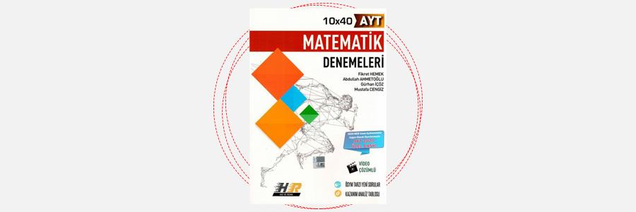 AYT Matematik 12x40 Denemeleri Hız ve Renk Yayınları 11