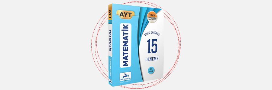 AYT Matematik 15 Deneme PRF Paraf Yayınları 9