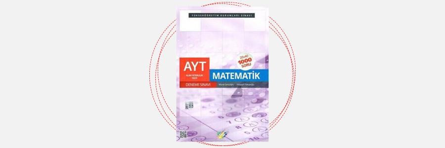 AYT Matematik 25x40 Deneme Sınavı FDD Yayınları 18