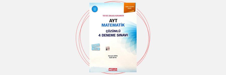 AYT Matematik 4 Deneme Sınavı Mavi Seri Esen Yayınları 15