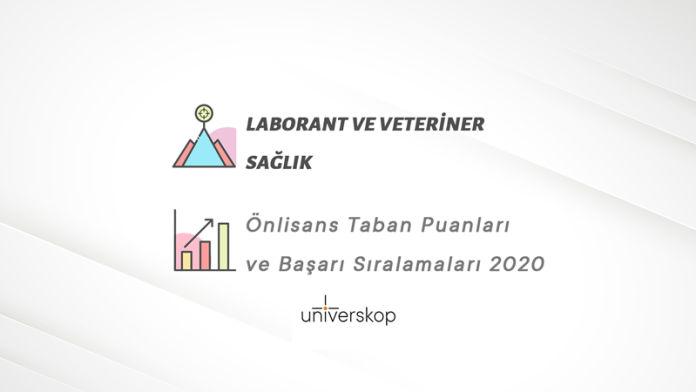 Laborant ve Veteriner Sağlık 2 Yıllık Önlisans Taban Puanları ve Sıralamaları 2020
