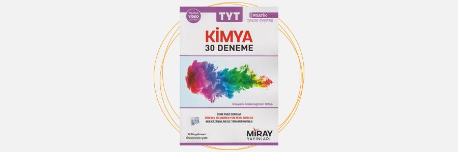 TYT Kimya 30 Deneme Miray Yayınları 4