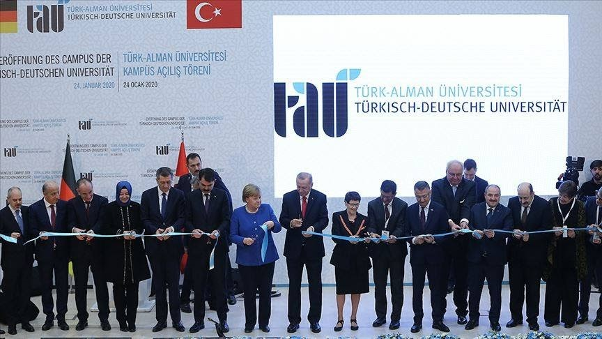 Türk Alman Üniversitesi Açılışı