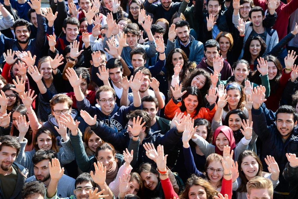 Türk Alman Üniversitesi öğrencileri