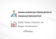 Adana Alparslan Türkeş Bilim Ve Teknoloji Üniversitesi Taban Puanları ve Sıralamaları 2020