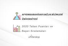 Afyonkarahisar Sağlık Bilimleri Üniversitesi Taban Puanları ve Sıralamaları 2020