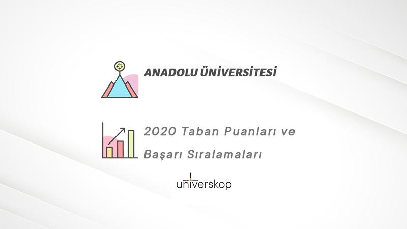 anadolu universitesi taban puanlari ve