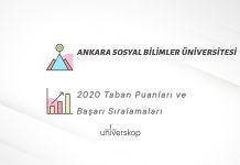 Ankara Sosyal Bilimler Üniversitesi Taban Puanları ve Sıralamaları 2020