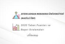 Aydın Adnan Menderes Üniversitesi (Nazilli İİBF) Taban Puanları ve Sıralamaları 2020