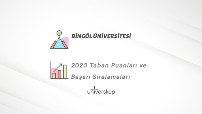 Bingöl Üniversitesi Taban Puanları ve Sıralamaları 2020
