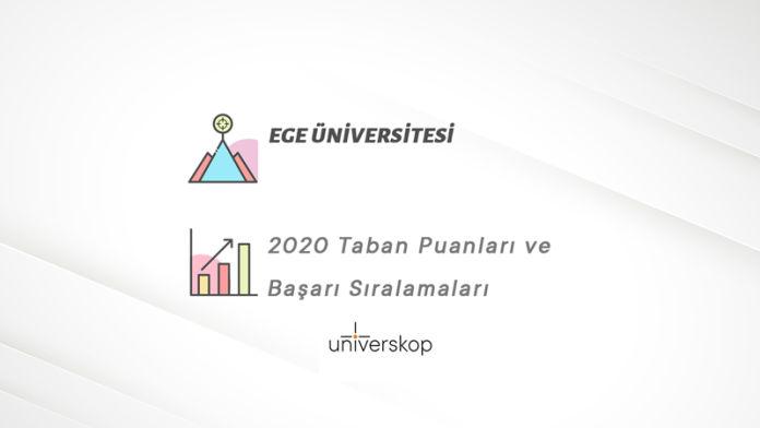 Ege Üniversitesi Taban Puanları ve Sıralamaları 2020