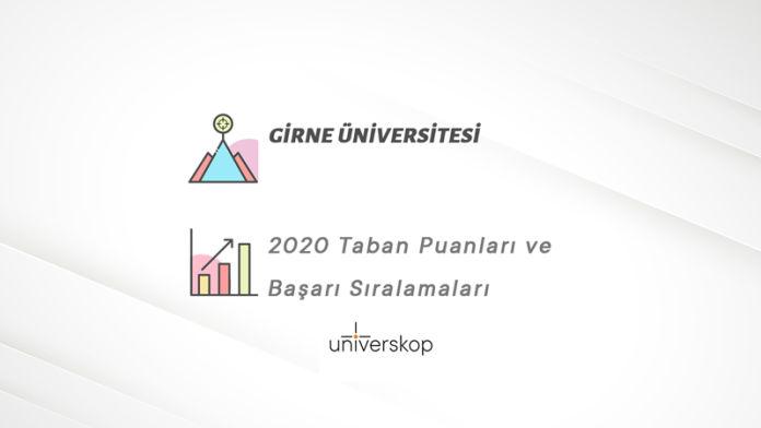 Girne Üniversitesi Taban Puanları ve Sıralamaları 2020