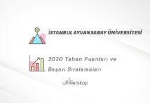 İstanbul Ayvansaray Üniversitesi Taban Puanları ve Sıralamaları 2020