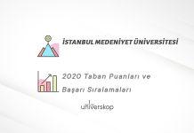 İstanbul Medeniyet Üniversitesi Taban Puanları ve Sıralamaları 2020