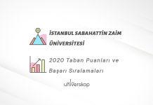 İstanbul Sabahattin Zaim Üniversitesi Taban Puanları ve Sıralamaları 2020