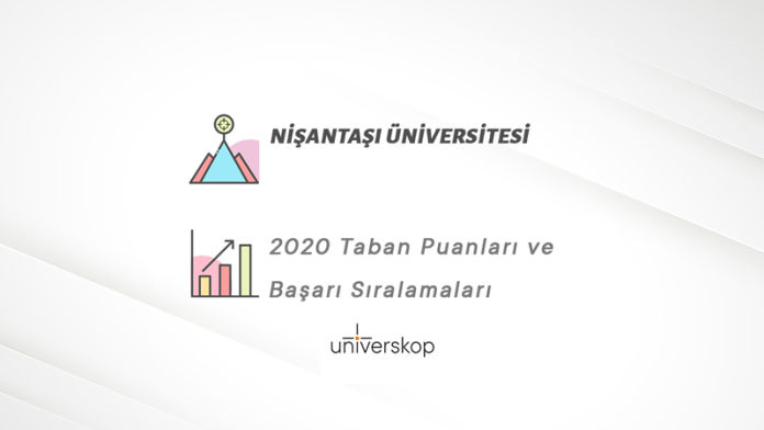 Nişantaşı Üniversitesi Taban Puanları ve Sıralamaları 2020