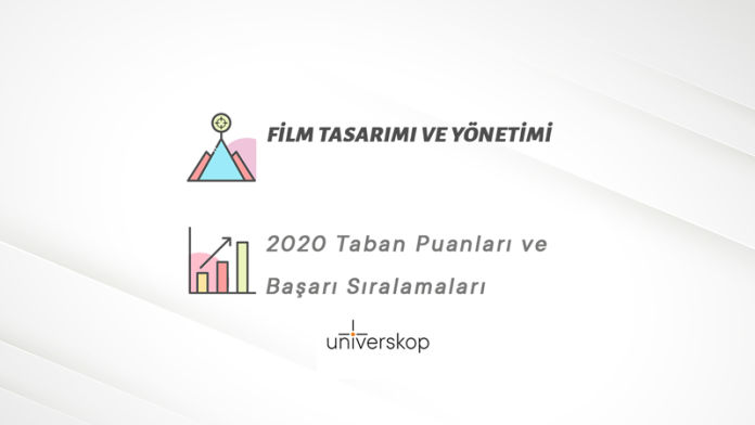 Film Tasarımı ve Yönetimi Taban Puanları ve Sıralamaları 2020