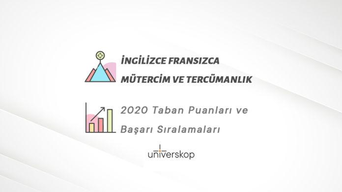 İngilizce Mütercim ve Tercümanlık Taban Puanları ve Sıralamaları 2020