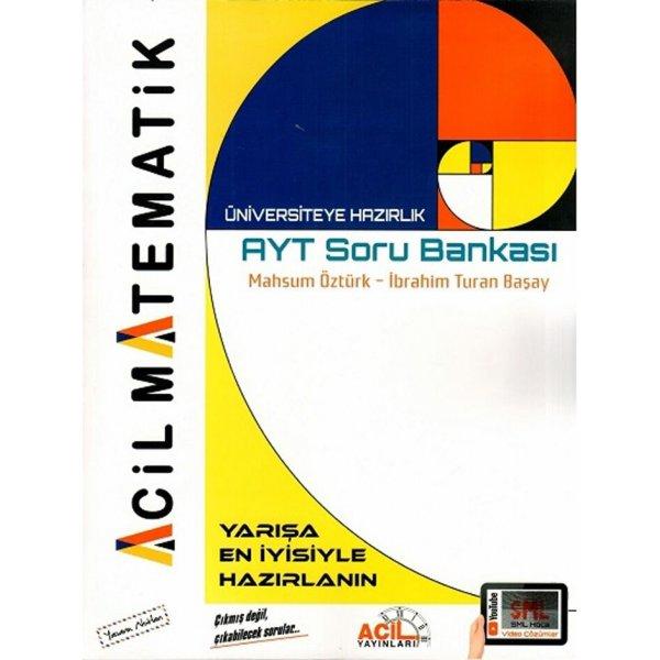 Acil Yayınlar AYT Matematik Soru Bankası