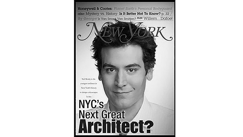 Ted Mosby, The Architect