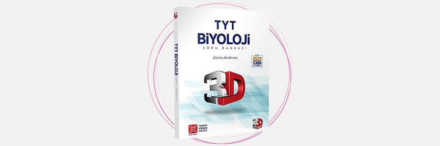 TYT 3D Biyoloji Tamamı Video Çözümlü Soru Bankası 3D Yayınları 5