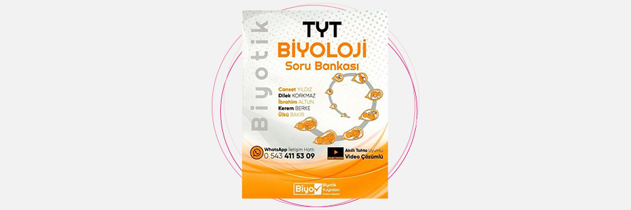 TYT Biyoloji Biyotik Soru Bankası Biyotik Yayınları 4