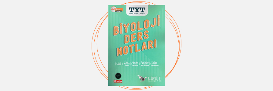 TYT Biyoloji Ders Notları Limit Yayınları 3