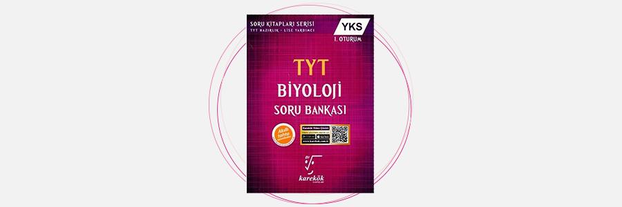 TYT Biyoloji Soru Bankası Karekök Yayınları 9