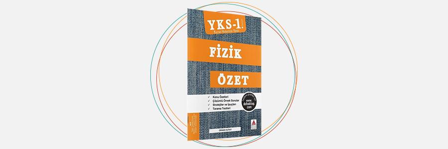 YKS 1. Oturum TYT Fizik Özet Kitabı Delta Kültür Yayınları 8