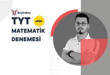 Baybakay TYT Matematik Denemesi Çözümü