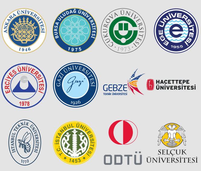 YÖK Anadolu Projesi Kıdemli Üniversiteler