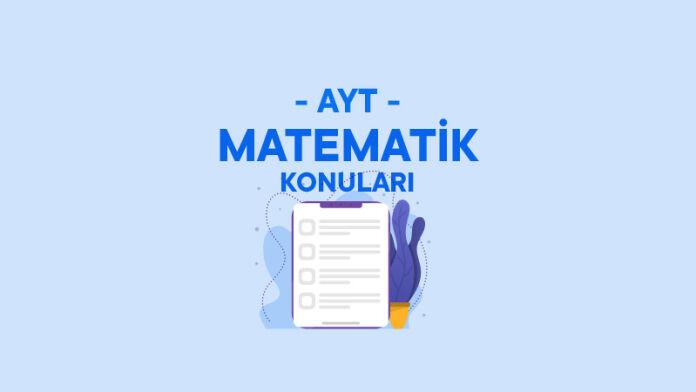 AYT Matematik Konuları