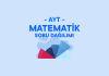 AYT Matematik Soru Dağılımı