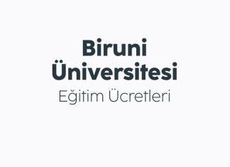 Biruni Üniversitesi Eğitim Ücretleri